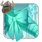 Pretty Aqua Arm Bow