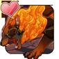 Flamerest Fiendcat Icon