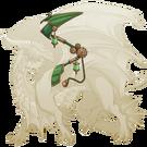 Copper steampunk wings guardian f