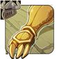 Burnished Gold Gauntlets