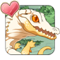 Butter Caiman Icon