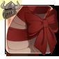 Dark Red Neck Bow