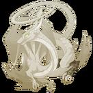Brass Steampunk spats spiral f