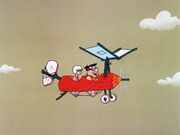 Fred's Flying Lesson