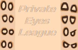 Private Eyes League Logo