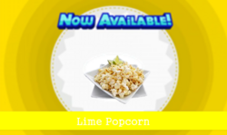Lime Popcorn