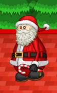 Papa's Pastaria - Santa carrying a candy cane