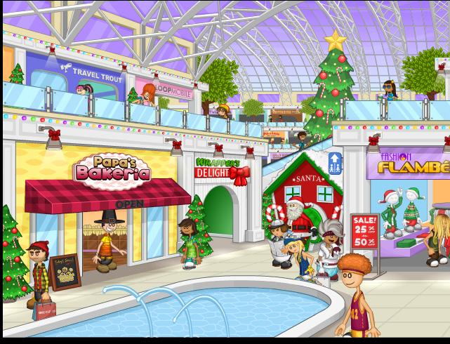 Image - Mall during Christmas.png | Flipline Studios Wiki | FANDOM ...