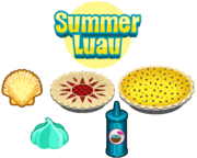 Summer Luau Ingredients - Bakeria