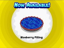 Unlocking blueberry filling
