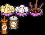 Baseball season toppings