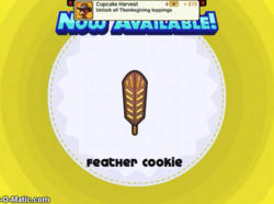 Papa's Cupcakeria - Feather Cookie