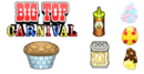 Cupcakeria To Go! - Big Top Carnival Toppings