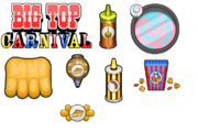 Big top carnival toppings donuteria by amelia411-d7nblk4