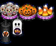 Halloween toppings