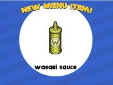 Unlocking wasabi sauce