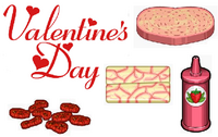 Valentine's Day Ingredients