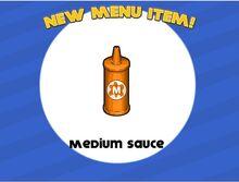 Unlocking medium sauce