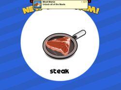 Unlocking steak