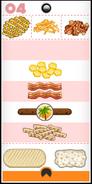Hacky Zak's Cheeseria order during Summer Luau