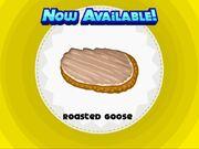 Unlocking roasted goose