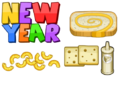 New Year Ingredients - Cheeseria