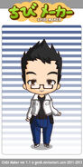 Doan as a chibi