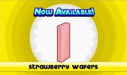 Strawberry wafers unlocked