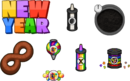 New year toppings donuteria by amelia411-d7o0vw6