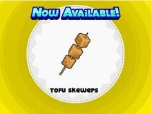 Unlocking tofu skewers