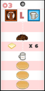 Gremmie's Pancakeria Order