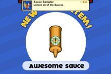 Unlocking awesome sauce