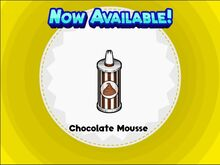 Unlocking chocolate moussee