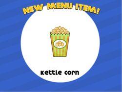 Kettle corn unlocked