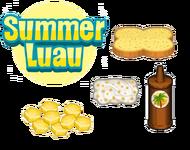 Summer Luau Ingredients - Cheeseria