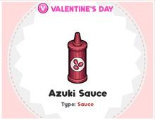 Asuki Sauce