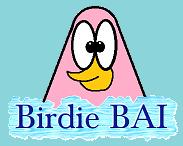Birdie BAI Flipnote Hatena Studio Nintendo Icon Logo TeenChat The Author Side Mr O Mr. O'Strich Tee Kiwi T-Kiwi Character Cute Funny Songbird Pink BirdieBAI Weebly Mixxt Tumblr YouTube Google Plus
