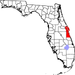 150px-Map of Florida highlighting Brevard County svg