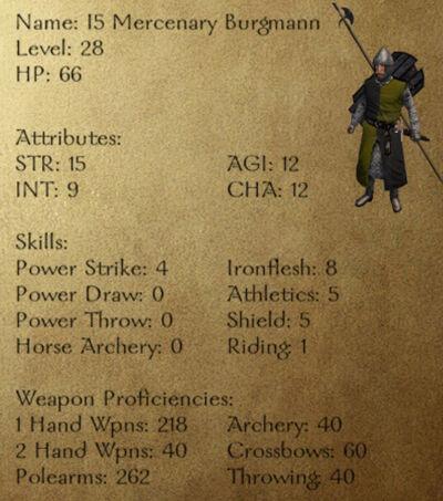 I5 Mercenary Burgmann