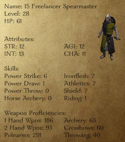 I5 Freelancer Spearmaster