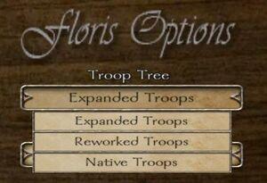 Troop tree selection