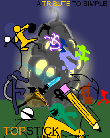 File:Topstick fan made poster by balistiik-d4fkuwn.png