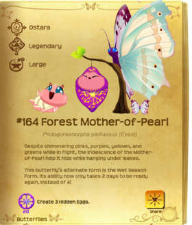 Forest Mother-of-Pearl§Flutterpedia Upgraded