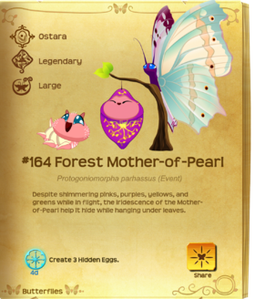 Forest Mother-of-Pearl§Flutterpedia