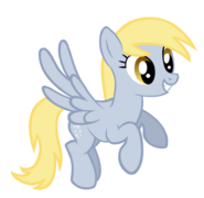 Derpy with normal eyes