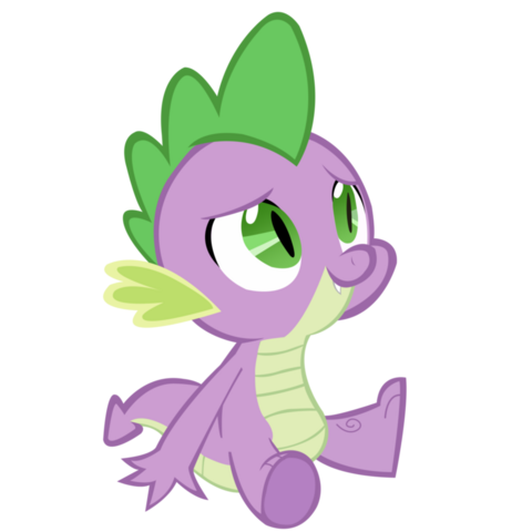 File:Spike sitting by franpaz-d5h779p.png