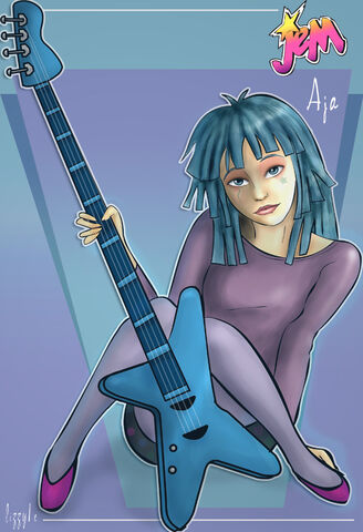 File:Aja from Jem And The Holograms by lizzy1e.jpg