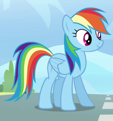 File:Rainbow Dash standing on track.png
