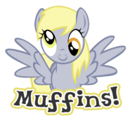 Derpy wanting muffins