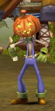 Mr Pumpkin